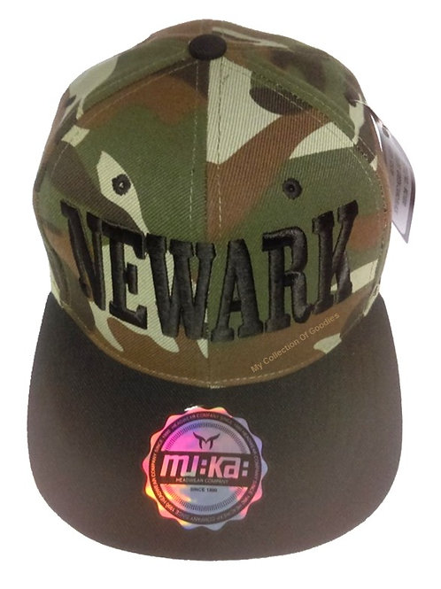 NEWARK Camouflage Ready For War Cap