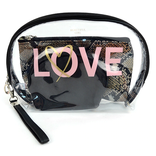 Much Love Cosmetic Bag
