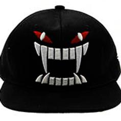 Black Vamp Ladies Snap-Back Cap