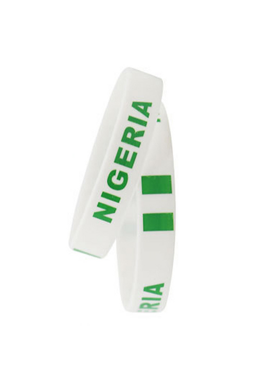 Nigeria Rubber Friendship Bracelet