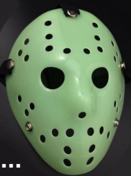 Friday The 13th Jason Glow Mask