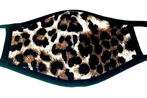 Leopard Print Reusable Face Mask