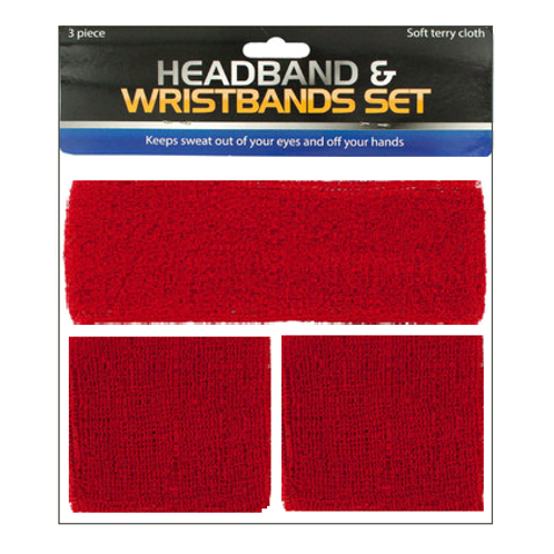Head and Wrist Sweat Bands