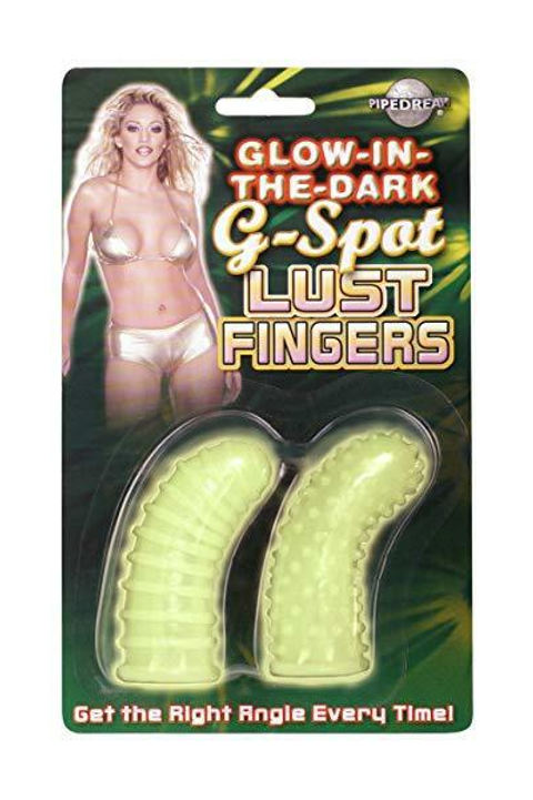 Vintage Glow In The Dark G-Spot Lust Fingers