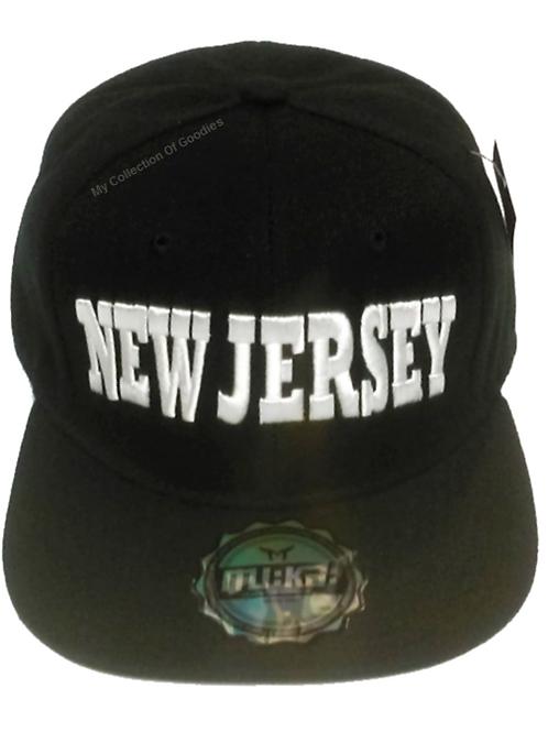 New Jersey Snapback Baseball Cap