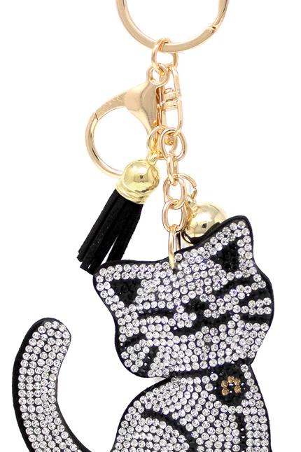 Here Kitty Kitty Keychain