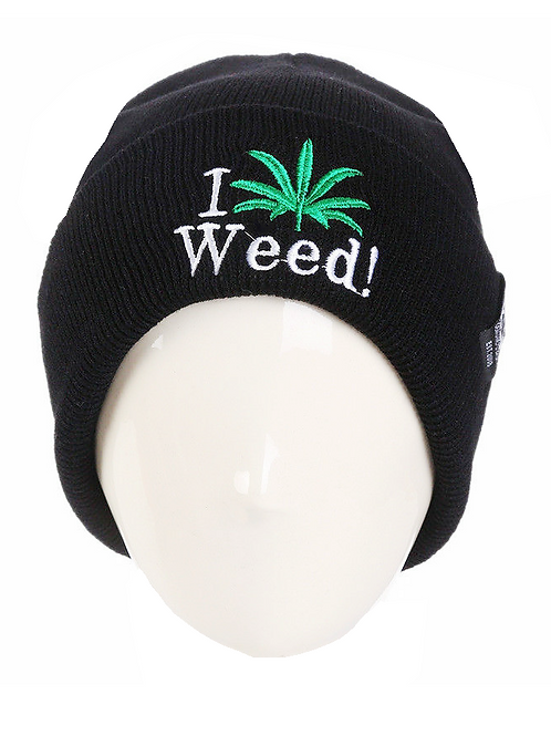 I Love Weed Hat