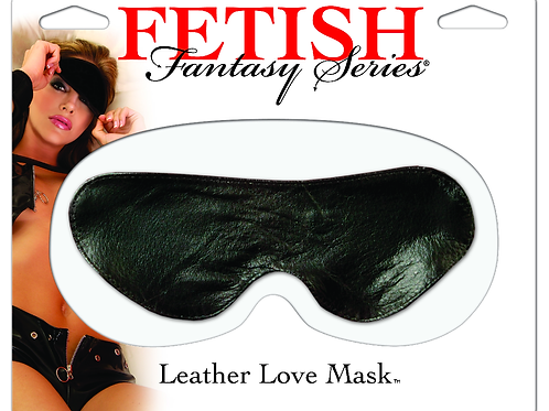 Fetish Leather Love Mask
