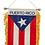 Thumbnail: Puerto Rico Flag Mini Car Mirror Banner