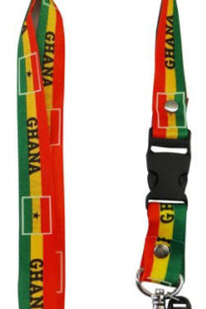 Ghana Lanyard