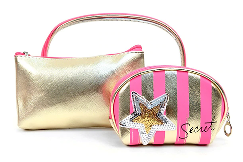 Secret Stars Cosmetic Bag