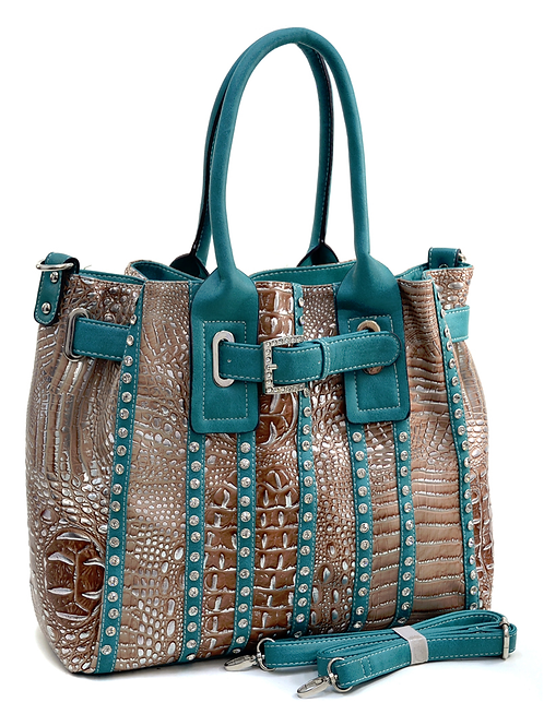 The Metallic Crocodile Twister Pocketbook