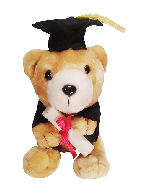 Happy Graduation Plush Teddy Bear