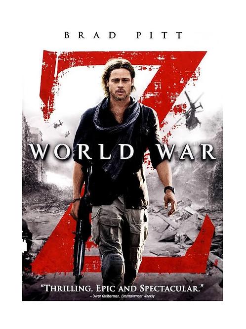 World War Z  DVD Movie