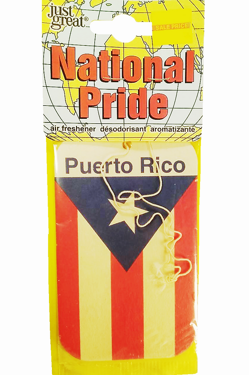 Puerto Rico Flag Air Freshner