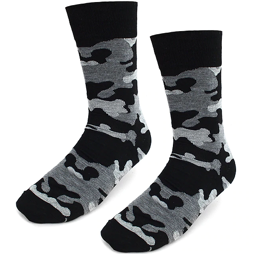 Men Camo Socks