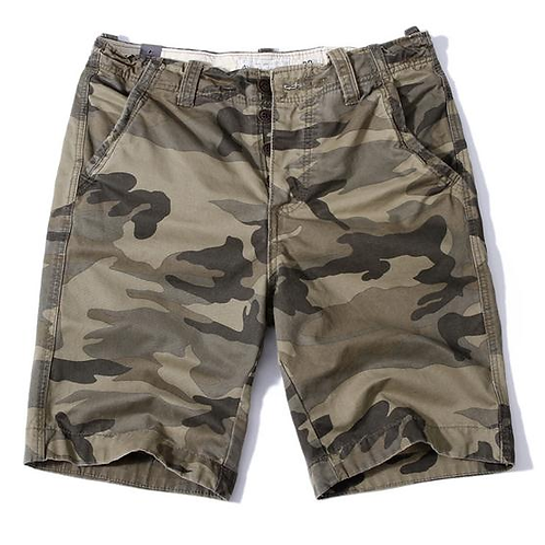 Camouflage Ready For War Street Shorts