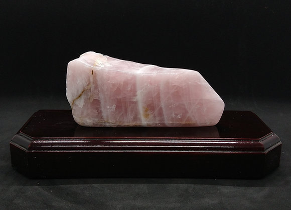 Polished Rose Quartz