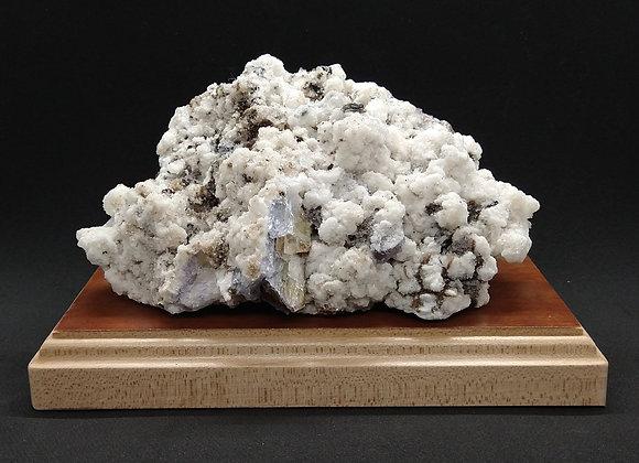 Spikey Quartz w/ Fluorite