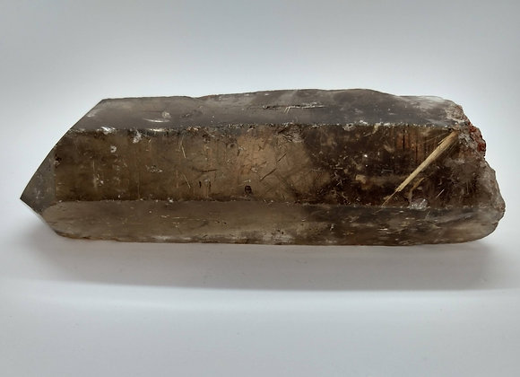 Brazilian Rutilated Smoky Quartz Point