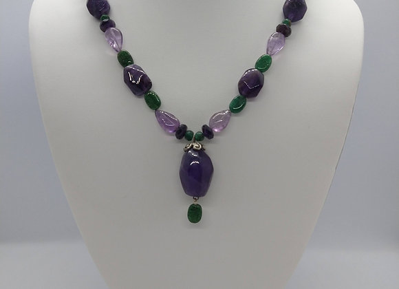 Amethyst & Adventurine