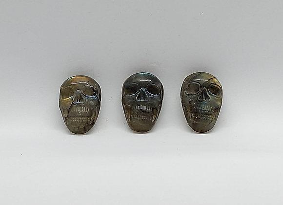 Labradorite Skulls