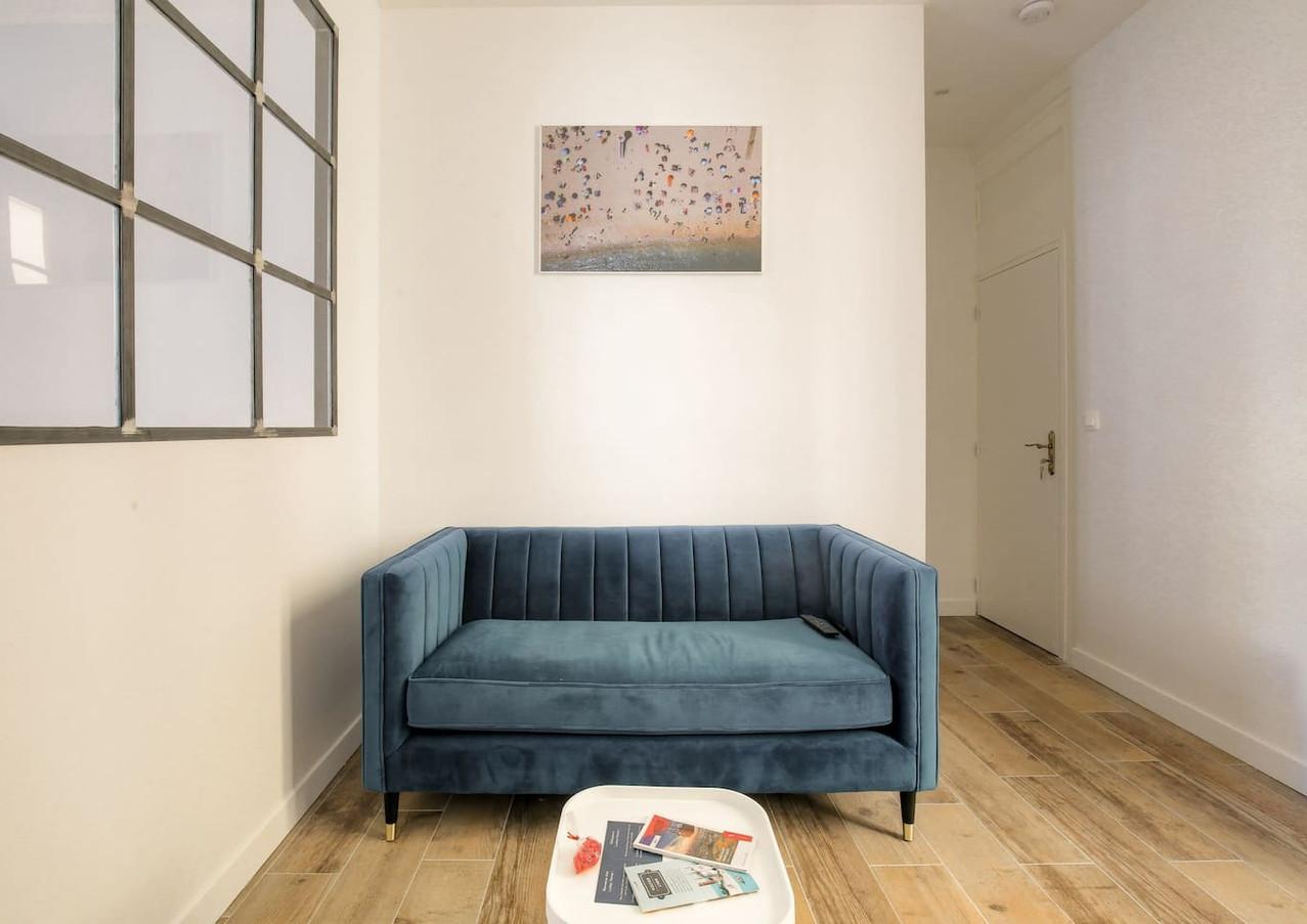 Rénovation complète de ce bel appartement