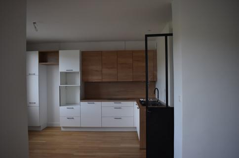 Rénovation d'un bel appartement issue d'une division.