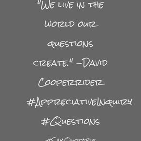 We Live in the World Our Questions Create (Book Notes: The Coaching Habit)
