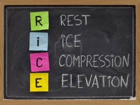 R.I.C.E. (Rest, Ice, Compression, Elevation):Group Recovery After an Injury