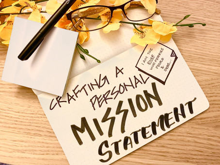 Self-Coaching Activity: Crafting a Personal Mission Statement