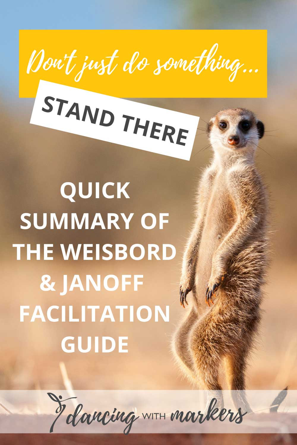 facilitation guide - don't just do something stand there