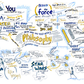 Graphic Recordings from Jedi and the Yogi