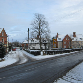 Cheese Hill, Memorial Green, East Harling, 6 January 2010