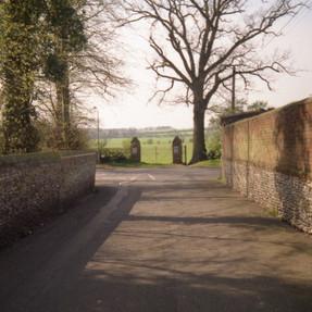 School Lane, East Harling  7 April 1997
