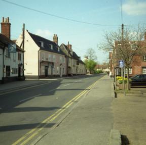 Market Street, East Harling, Norfolk 7 April 1997
