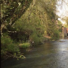 River Thet, East Harling  7 April 1997