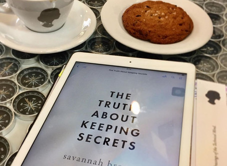 The Truth About Keeping Secrets by Savannah Brown - Book Review