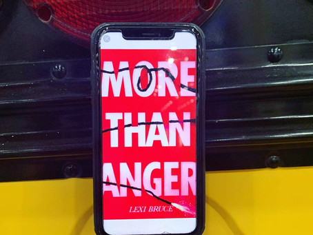 Book Review: More Than Anger by Lexi Bruce