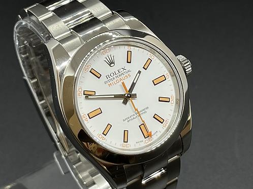 2015 ROLEX Milgauss 116400 White