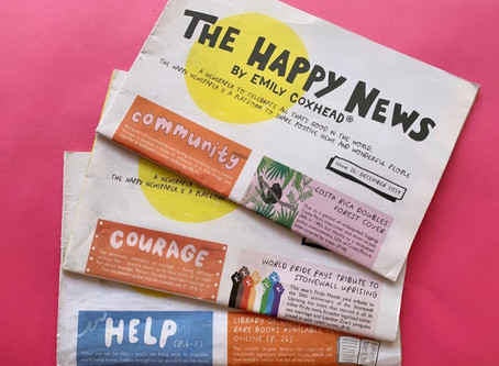 This newspaper celebrates positive news from around the world
