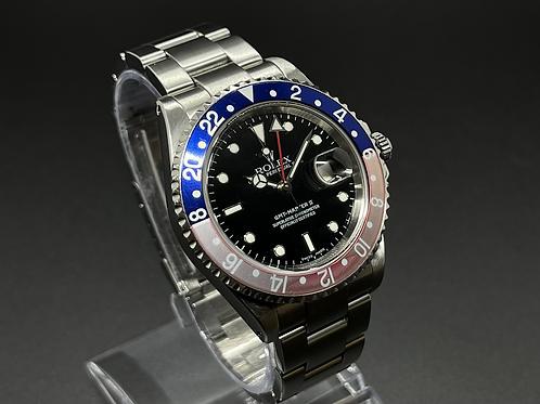 2003 ROLEX GMT Master II 16710 PEPSI