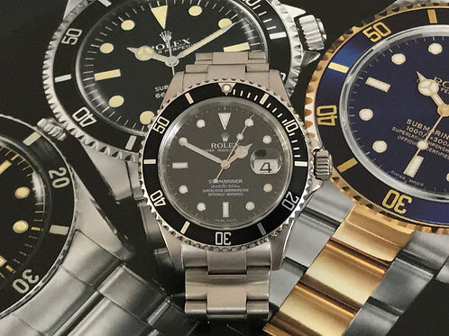 2005 ROLEX Submariner Date 16610 'NON HOLE'