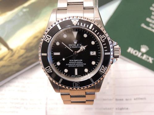 2003 ROLEX Sea-Dweller 4000