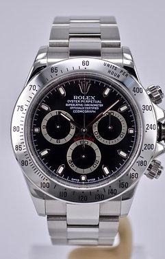 2001 ROLEX Daytona Stainless Steel 116520