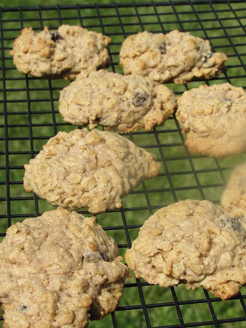 Oatmeal Raisin Cookies (Sugar Free)