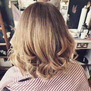 Ombre with root colour to add depth to t