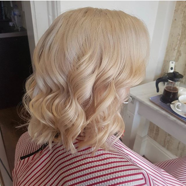 Another happy costumer. Coloured and cut