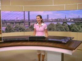Andrea Becker-Schulmeister im WDR Studio
