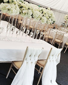 Wedding Sweetheart Table Decor